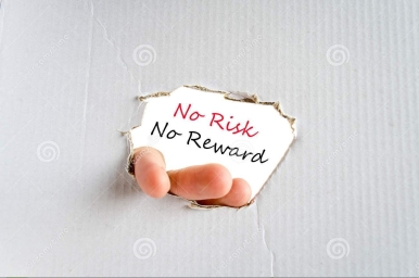 no-risk-no-reward-text-concept-isolated-over-white-background-90111221