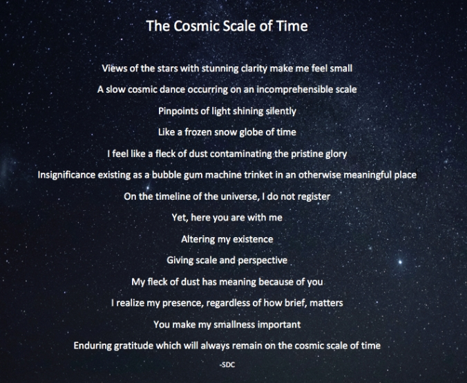 Cosmic Scale of Time